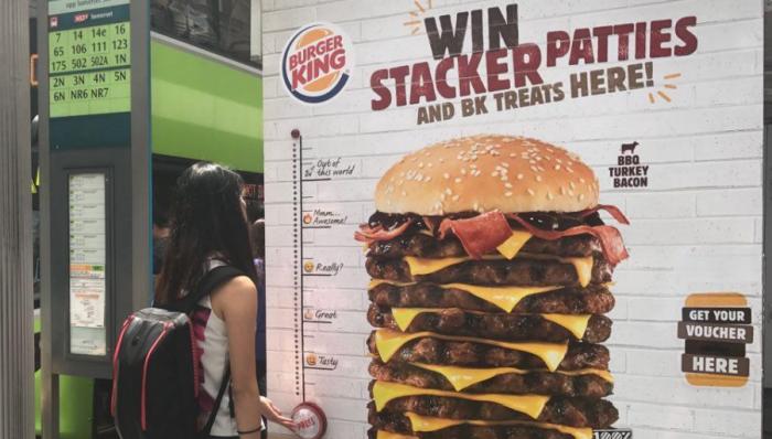 Burger King Stacker