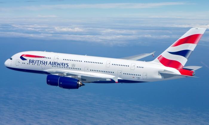 British Airways Airbus A380 Airbourne