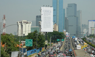Go Jek BIllboard