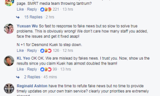 SMRT CEO comments