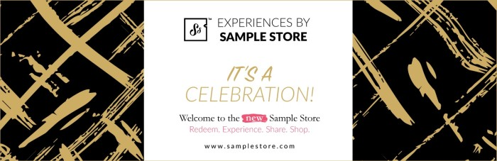 Sample store branded content