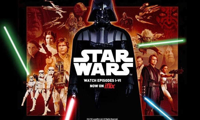 Star Wars now on iflix