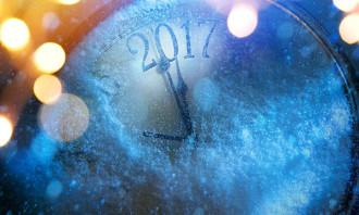 2017 clock 123rf