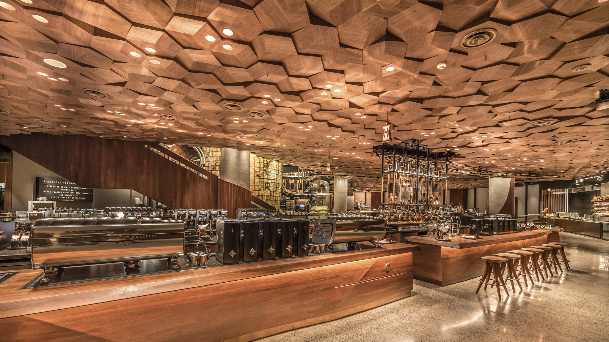 Starbucks Opens World S Largest Reserve Roastery In