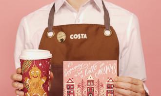Costa Coffee Christmas Mail 1