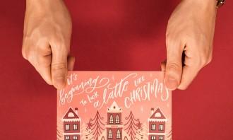 Costa Coffee Christmas Mail 2