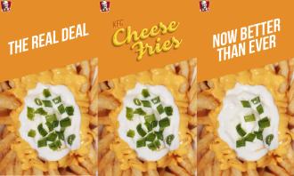 KFC Cheese fries