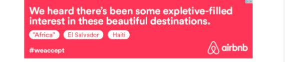 Airbnb digital ad