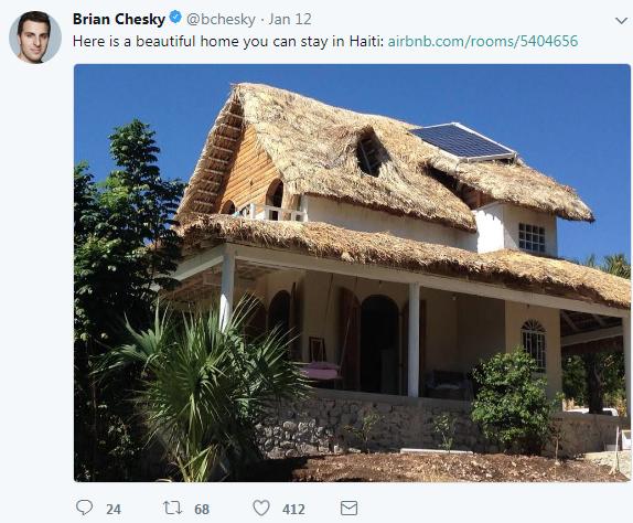 Brian Chesky Twitter 1