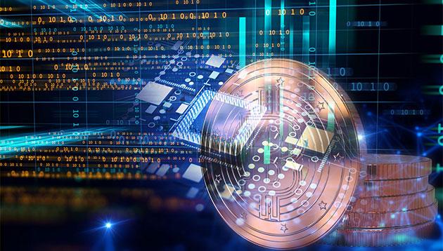 Cryptocurrency Blockchain 123rf