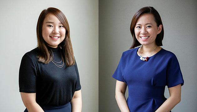 Fiona Lee and Yang Yang
