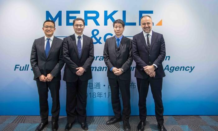 (L-R) Zhengda Z, Frank Zhang, Phil Kono, Phil Teeman