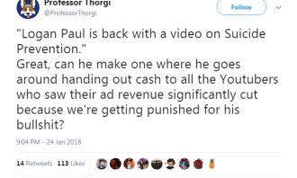 Logan Paul Twitter 2