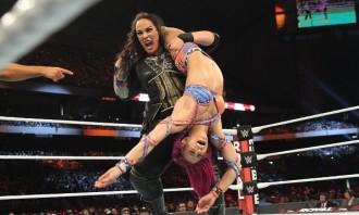 WWE Royal Rumble 2017 - Nia Jax def Sasha Banks