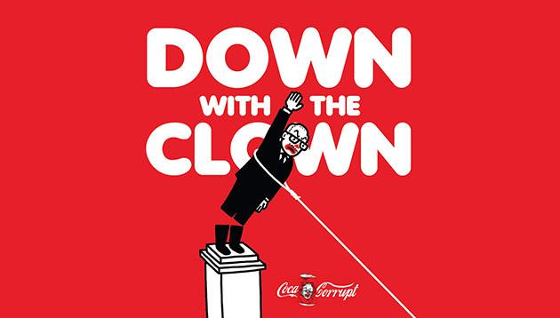 Fahmi Reza_PM Najib_Clown
