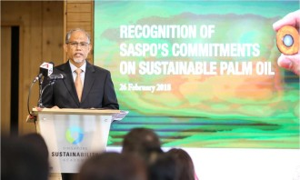 Minister Masagos Zulkifli at SASPO's Commitments to Sustainable Palm Oil event