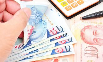 Singapore money budget finance 123rf
