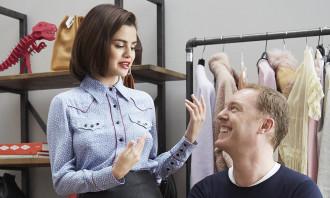Coach with Selena Gomez