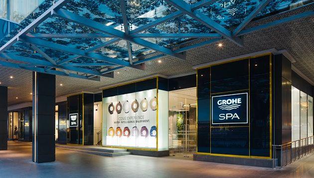 GroheShowroomSingapore-facade-night