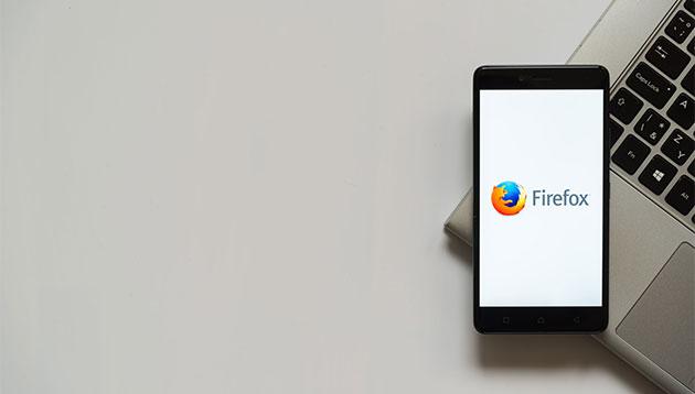 Mozilla Firefox 123rf