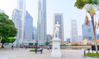 Singapore Raffles 123rf