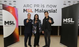 Glenn Osaki President MSL Asia-Pac, Sharmila Ramanath PR Di...