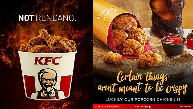 KFC TGV rendang