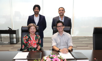 Mediacorp Grab partnership MOU