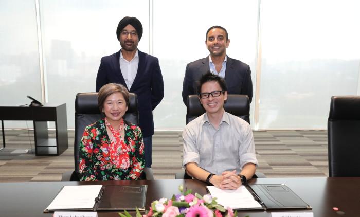 Mediacorp Grab partnership MOU