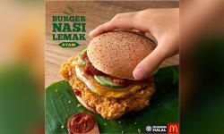 Nasi Lemak Burger