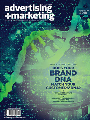 Advertising + Marketing magazine Malaysia, April - June 2018
