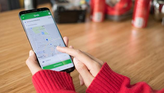 Grab mobile app_2