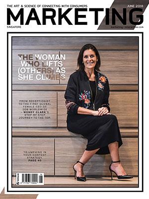 Marketing magazine Singapore, June 2018