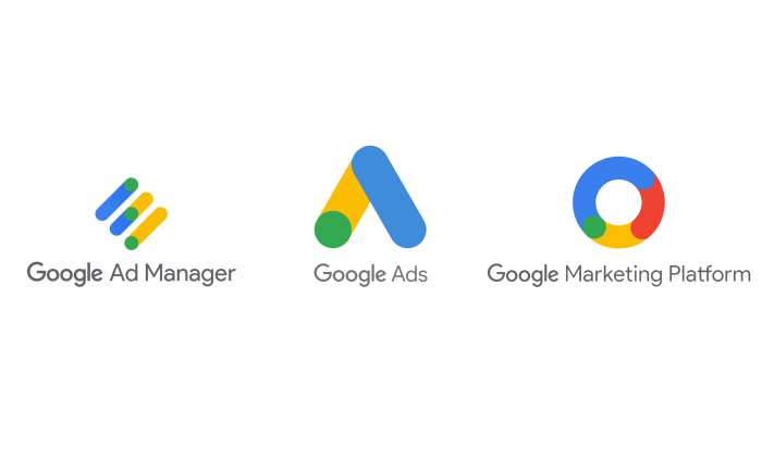 Google AdManager, Google Marketing Platform, Google Ads