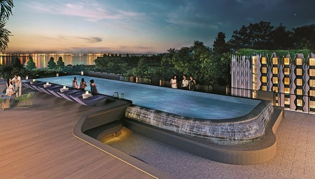 Rooftop Pool at The Outpost Hotel
