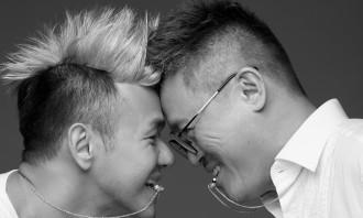 Dennis Chong, with partner Chong Kok Keong