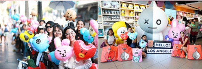 LINE-FRIENDS-pop-up-Hollywood